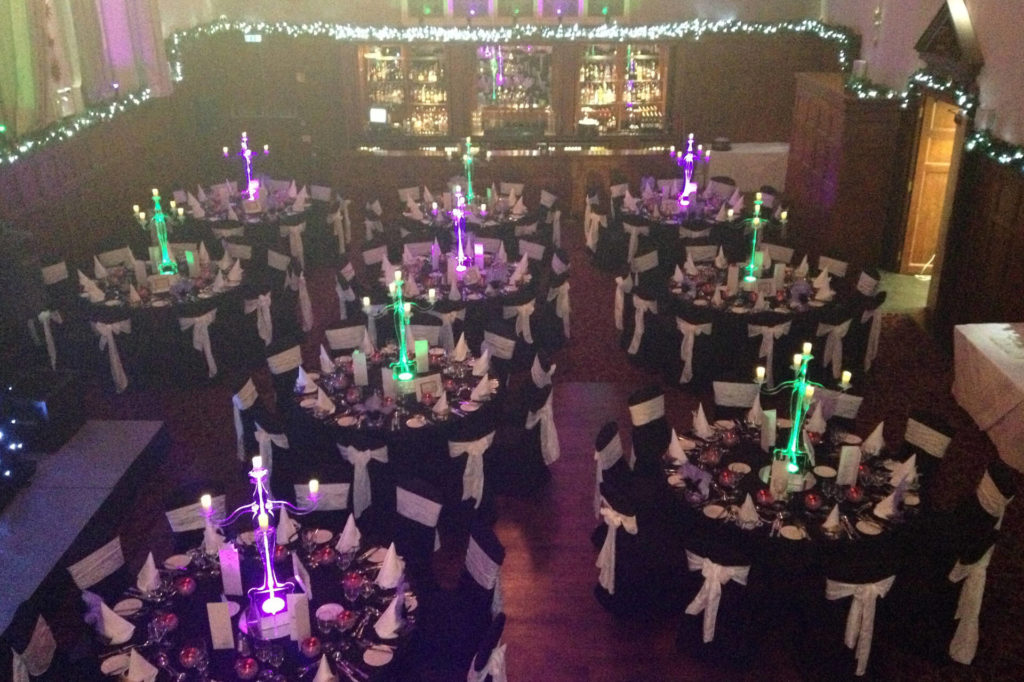 corporate event management package for over 100 people
