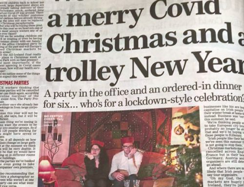 'A Merry COVID Christmas' Irish Mail on Sunday 09/20